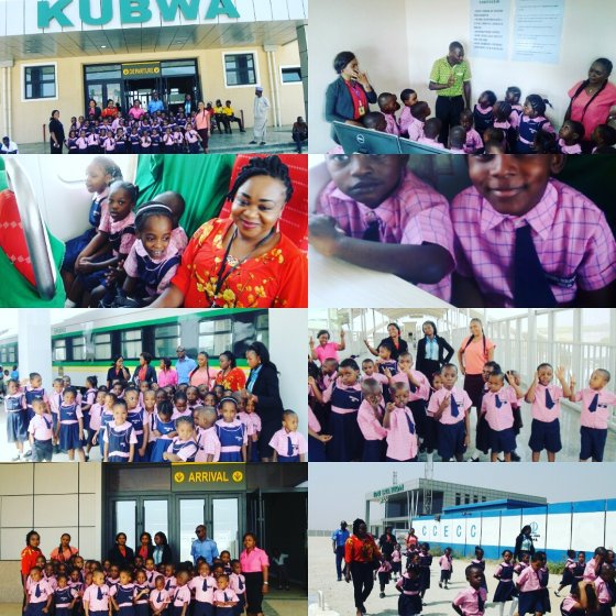 Nursery pupils' excursion train ride from Kubwa to Idu